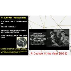 A Cuckoo in the Nest (1933) Tom Walls , Ralph Lynn Grace Edwin  w