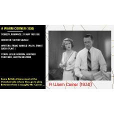 A Warm Corner (1930) Victor Saville Stars: Leslie Henson, Heather Thatcher