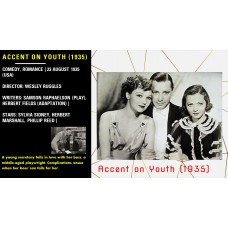 Accent on Youth (1935) Dir Wesley Ruggles Sylvia Sidney, Herbert Marshall  w