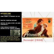Accused (1936) Director: Thornton Freeland Stars: Douglas Fairbanks Jr.   w
