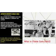 AFFAIR IN MONTE CARLO (1952)  AKA 24 HOURS OF A WOMAN'S LIFE   DIRECTOR: VICTOR SAVILLE  STARS: MERLE OBERON, RICHARD TODD, LEO GENN
