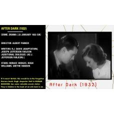 After Dark (1933) Crime, Drama (UK) Albert Parker Horace Hodges, Hugh Williams  w