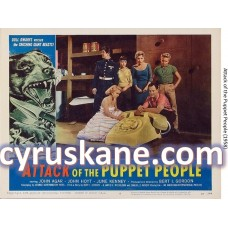 POSTER Attack of the Puppet People (1958) SIZE A4