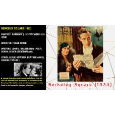 Berkeley Square (1933) Frank Lloyd Leslie Howard, Heather Angel, Valerie Taylor   W