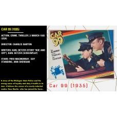 Car 99 (1935) dvd r Charles Barton Fred MacMurray, Guy Standing, Ann Sheridan