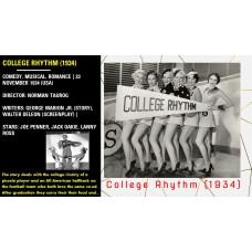College Rhythm (1934) Norman Taurog Joe Penner, Jack Oakie, Lanny Ross   w