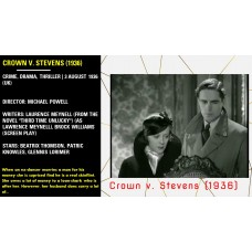 Crown v. Stevens (1936) Crime, Thriller (UK) Director: Michael Powell   w