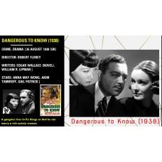 Dangerous to Know (1938) Stars: Anna May Wong, Akim Tamiroff, Gail Patrick  w