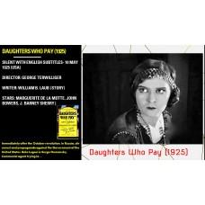 Daughters Who Pay (1925) George Terwilliger Marguerite De La Motte, Bela Lugosi   w