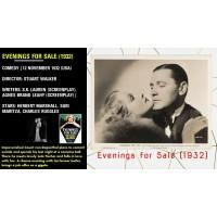 Evenings for Sale (1932) Dir Stuart Walker Herbert Marshall, Sari Maritza  w