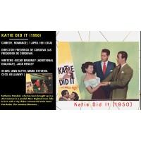 Katie Did It (1950) Ann Blyth, Mark Stevens, Cecil Kellaway dir: Frederick De Cordova  w