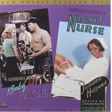 BABY FACE  +  NIGHT NURSE  2 Laserdisc LD DOUBLE FEATURE FORBIDDEN HOLLYWOOD