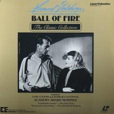 BALL OF FIRE Laserdisc LD