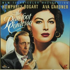 The Barefoot Contessa (1954)  Laserdisc
