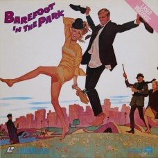 BAREFOOT IN THE PARK Laserdisc LD