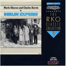 BERLIN EXPRESS Laserdisc LD THE RKO CLASSIC COLLECTION