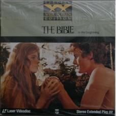 The Bible Richard Harris Peter O'Toole Ava Gardner  Laserdisc  ld