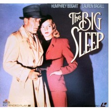 The Big Sleep Laserdisc LD Humphrey Bogart Lauren Bacall