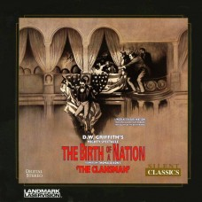 The Birth of a Nation Laserdisc LD D.W. Griffith