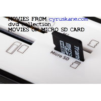 The Tripods (TV series)  on a MICRO SD CARD Stars: John Shackley, Ceri Seel, Jim Baker  SD CARD MOVIES