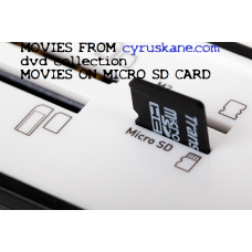 SD CARD MOVIES The Tripods (TV series)  on a SD CARD Stars: John Shackley, Ceri Seel, Jim Baker  SD CARD MOVIES