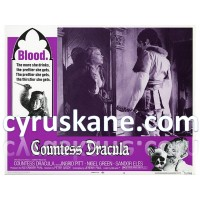 POSTER  SIZE A4 Countess Dracula (1971)