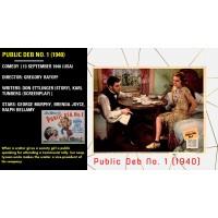 Public Deb No. 1 (1940) Gregory Ratoff George Murphy, Brenda Joyce, Ralph Bellamy  w