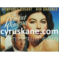 POSTER The Barefoot Contessa (1954)  SIZE A4