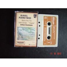 RAVEL PIANO TRIO VIOLIN SONATA CASSETTE PHILIPS