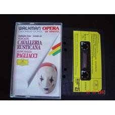 PAGLIACCI HIGHLIGHTS CASSETTE Deutsche Gramophon CHROMIUM DIOXIDE WALKMAN OPERA