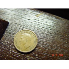 Canada 1 cent -penny- coin  1940   Circulated  3.24 g 19.05 mm (3⁄4 inch), round 98% copper