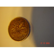Canada 1 cent -penny- coin     Circulated