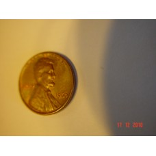 1 cent -penny- coin  USA   Circulated