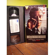 A Shock to the System (1990) VHS Michael Caine, Elizabeth McGovern, Peter Riegert